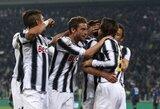 """""""Juventus"""" klubas namuose įveikė """"Inter"""""""