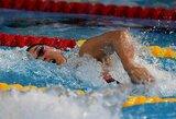 Europos plaukimo čempionate krito pirmasis pasaulio rekordas