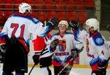 """Neįtikėtiną atkarpą antrojo kėlinio pabaigoje sužaidę """"Rokiškio"""" ledo ritulininkai išsivežė pergalę iš Elektrėnų"""