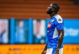 """""""Napoli"""" derėtis neketina: K.Koulibaly galės palikti klubą tik sumokėjus nustatytą išpirką"""
