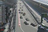 """Virtualiose """"Formulės 1"""" lenktynėse – Ch.Leclerco košmaras ir G.Russello pergalė"""