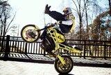 Lietuvoje pirmą kartą vyks motociklų akrobatikos čempionatas
