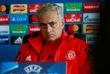 """J.Mourinho atsisakė susitikti su """"Man United"""" sirgaliais"""