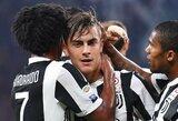 """Italijoje - dar viena lengva """"Juventus"""" pergalė"""