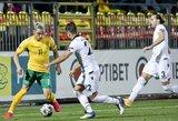 Tautų lyga: rungtynės tarp Lietuvos ir Albanijos rinktinių baigėsi be įvarčių