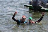 Plaukimo maratonuose – olimpiečiai, niekur nemėginta naujovė ir muzikos žvaigždė