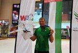 Aviamodeliuotojas D.Paužuolis tapo pasaulio oro sporto šakų žaidynių čempionu