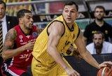 J.Mačiulio dvigubas dublis padėjo AEK iškovoti sunkią pergalę