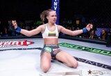 """""""UFC Fight Night 80"""" kovinio sporto vakaro """"vinimi"""" taps R.Namajuno ir P.VanZant dvikova"""