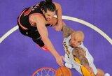 """Atsarginių """"Lakers"""" krepšininkų indėlio nepakako pergalei prieš Čikagos klubą"""