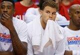 """B.Griffiną praradęs """"Clippers"""" klubas atsidūrė ties prarajos riba"""