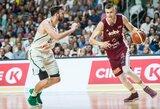 Europos čempionato rinktinių reitinge latviai pralenkė Lietuvą