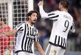 """""""Juventus"""" iškovojo antrą pergalę Italijoje"""