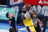 """""""Lakers"""" šiame sezone svečiuose toliau neklumpa"""