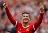 Sugrįžimo rungtynėse dublį pelnęs C.Ronaldo pasidalijo ypatinga žinute