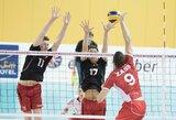 Lietuvos vyrų tinklinio rinktinė Europos čempionato atranką baigė pralaimėjimu