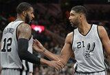 """""""Spurs"""" pakartojo """"Bulls"""" namų pergalių serijos rekordą"""
