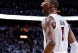 """NBA čempionai laimėjo Detroite, """"Lakers"""" klubas sutriuškintas Las Vegase"""