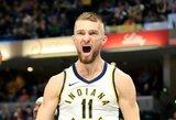 """""""Pacers"""" kapitonas atsisakė pakeisti puikiai žaidusį D.Sabonį"""