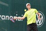 Geriausių pasaulio tenisininkų reitinge L.Mugevičius priartėjo prie L.Grigelio