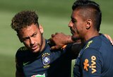 """Neymaras: """"Aš nesididžiuoju rekordine perėjimo suma ir nesu jos vertas"""""""