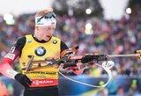 Prestižines pasaulio biatlono taurės lenktynes laimėjo J.T.Boe ir A.Kuzmina, praėjusio sezono nugalėtojai vėl strigo