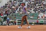 """Antroji pasaulio raketė N.Li """"Roland Garros"""" turnyre patyrė fiasko"""