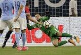 """Vos pasibaigus sezonui """"Manchester City"""" vartininkas pasirašė monstrišką 7 metų sutartį"""