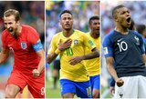 Aiškios visos pasaulio futbolo čempionato ketvirtfinalio poros