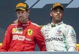 """""""Mercedes"""" įvertino galimybę įsigyti S.Vettelį, skelbiama apie preliminarų F.Alonso susitarimą su """"Renault"""""""