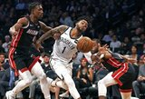 """""""Nets"""" pasiekė antrą pergalę iš eilės, """"Heat"""" svaidė pro šalį"""