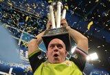 M.van Gerwenas susigrąžino PDC pasaulio čempiono titulą