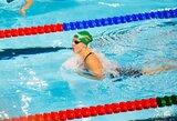 K.Teterevkova nesunkiai pateko į pasaulio jaunimo čempionato pusfinalį, 14-metė italė taikosi į R.Meilutytės rekordą (papildyta)