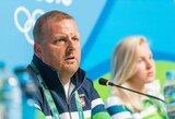 J.Ruddas: apie R.Meilutytės galimybę pakeisti trenerį ir juokingus straipsnius Lietuvos žiniasklaidoje