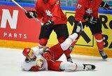 """Baltarusių šokas rungtynių pradžioje: """"Mes žaidžiame su lietuviais ar kanadiečiais?"""""""