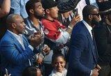 M.Tysonui stebėti amžiaus bokso dvikovą trukdė L.Jameso ūgis