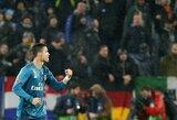 "M.Allegri: ""Sirgaliai teisingai elgėsi plodami C.Ronaldo"""