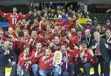 2016-ais m. triumfavę Lietuvos ledo ritulininkai davė patarimų į lemiamą mūšį stosiantiems kolegoms