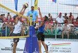 Tinklininkai P.Stankevičius ir M.Navickas tęsia pergalingą žygį turnyre Vengrijoje