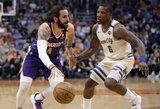 NBA lyderiai pralaimėjo Fynikse, R.Rubio atliko trigubą dublį