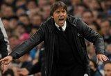 """A.Conte: """"Visa komanda žaidė puikiai prieš """"Leicester City"""""""