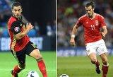 EURO 2016 ketvirtfinalis: ar Velsas nuleis ant žemės Belgijos žvaigždyną?
