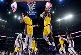 """""""Lakers"""" kalbasi su miesto valdžia dėl išskirtinių sąlygų pritaikymo"""