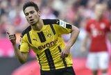 """Pamatykite: po sunkios traumos sugrįžęs """"Borussia"""" gynėjas pelnė įvartį įspūdingu suktuku"""