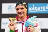 Universalioji Vengrijos plaukikė K.Hosszu Europos čempionate iškovojo dar tris medalius (+ kiti rezultatai)