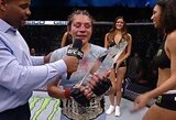 Ligoninėje gulinti N.Montano prarado UFC čempionės diržą