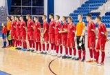Lietuvos salės futbolo rinktinei – vertingos pamokos Slovakijoje