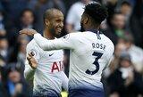 """L.Mouros """"hetrikas"""" sugrąžino """"Tottenham"""" trečią vietą Anglijoje"""