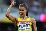 Bėgikė E.Balčiūnaitė pateko į pasaulio čempionato pusfinalį!