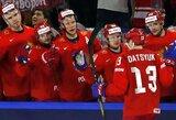 Pasaulio čempionate rusai sutriuškino kaimynus, amerikiečiai pusantro kėlinio vargo su vokiečiais